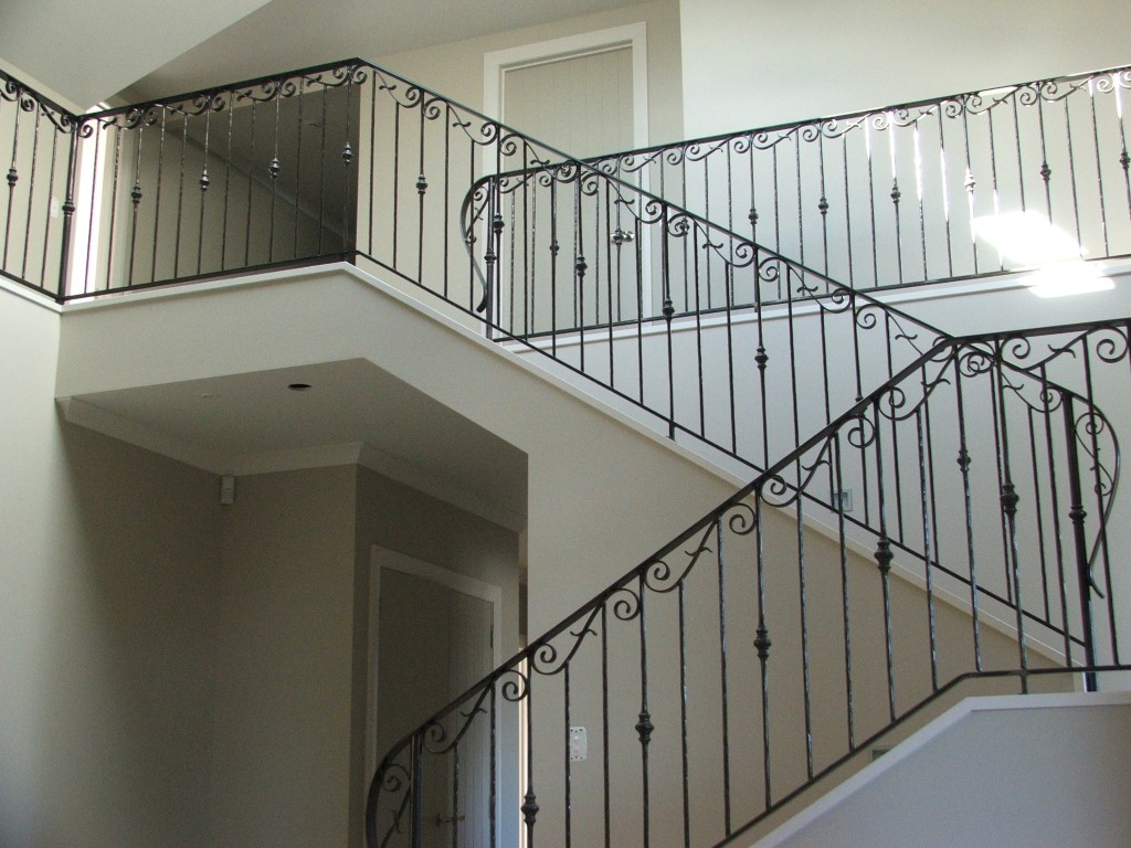Reco Wrought Iron Balustrades Spiral Stairs And Balcony