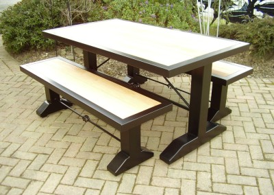 beech table benchs