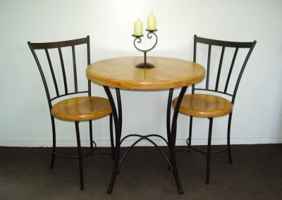 Rimu Cafe Table Chairs