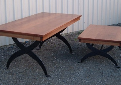 Wood Top Dining _ Coffee Tables