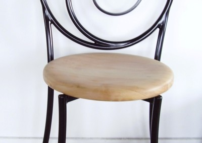 circle backed chair